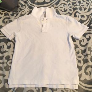 White school uniform short sleeve shirt for boys